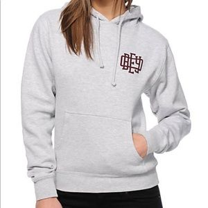 Obey grey hoodie size large